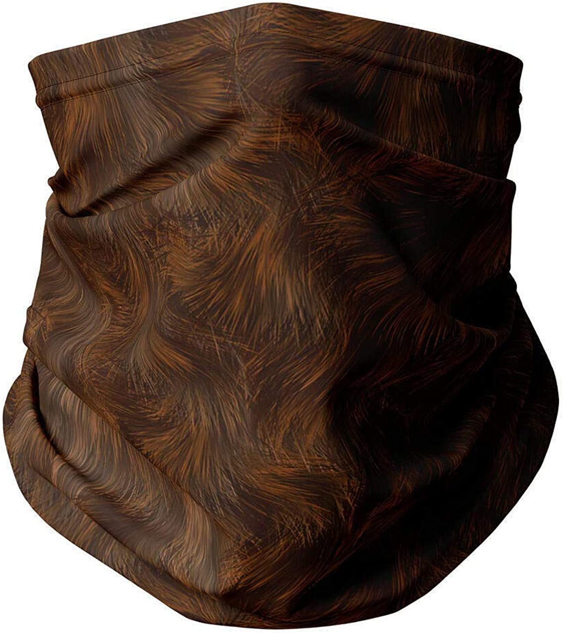 Neck Gaiter Face Covering - Wookie Fur SW Inspired
