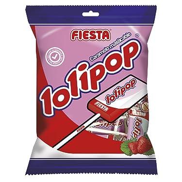 Fiesta Lolipop Caramelo con Palo - 80 gr