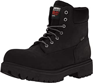 "Timberland Pro - Mens 6"" Direct Attach Steel Safety Toe Waterproof Insulated Shoe"