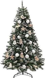クリスマスツリー 北欧ドイツトウヒツリー 2018新作ツリー オーナメントセット (150cm, ホワイト)