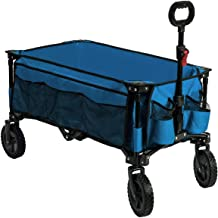 Timber Ridge Camping Wagon Folding Garden Cart Shopping Trolley Collapsible Heavy Duty..