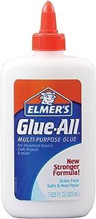 Elmer's Glue-all 胶水多功能 4 液体盎司/118 毫升(6 瓶装) 7.625 oz 白色
