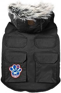 Canada Pooch   Everest Explorer Dog Jacket   Hooded Winter Dog Coat (16, Black)