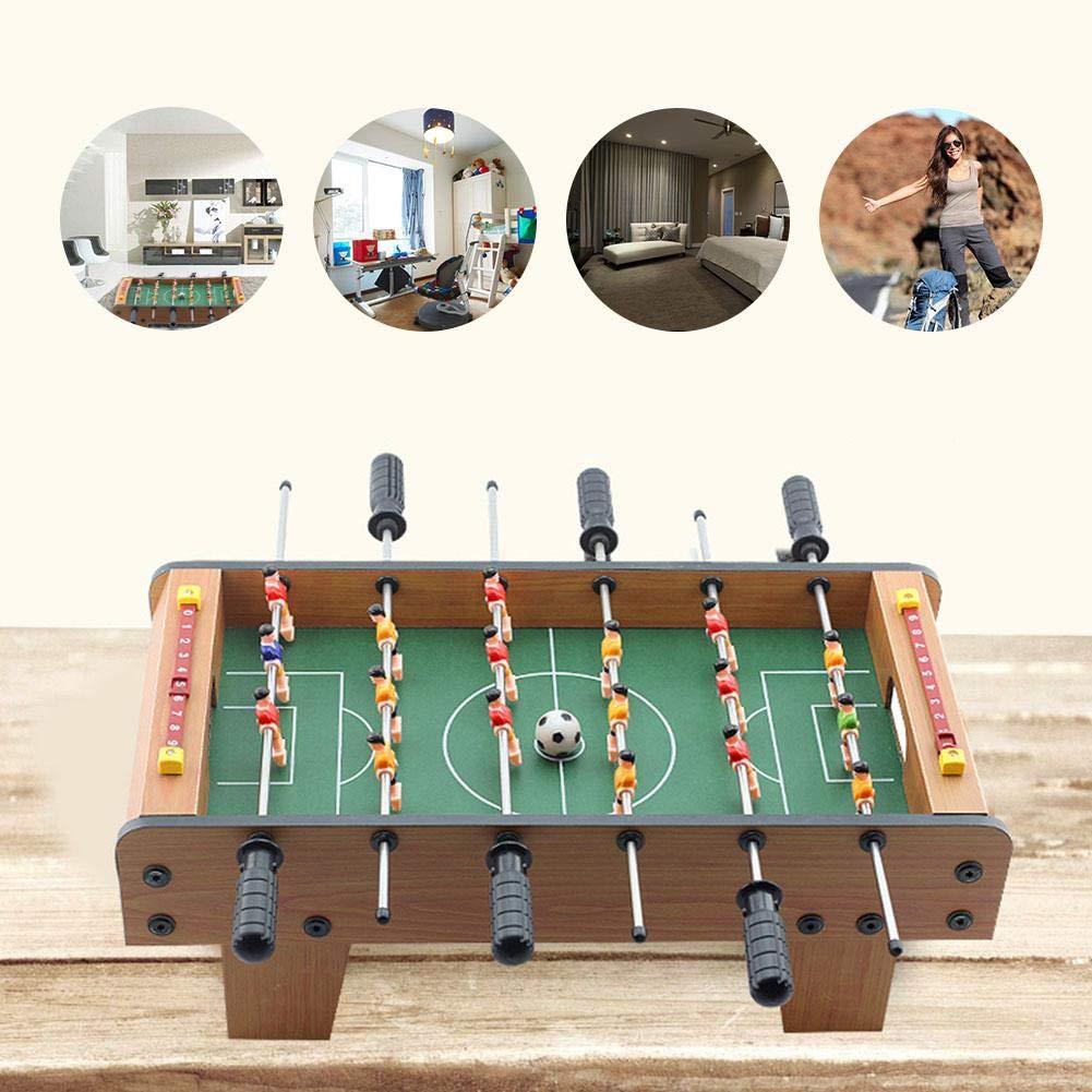 Sunflowerany Mini Juego de Mesa 20 Pulgadas, para Adultos, niños y Adolescentes. Juego de Mesa de fútbol de futbolín para Sala de Juegos y Bares.: Amazon.es: Hogar