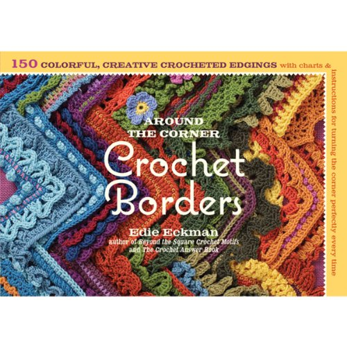 Storey Publishing Around The Corner Crochet Borders Drawing Book