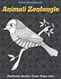 Animali Zentangle - Libro da colorare - Pipistrello, Quokka, Tasso, Volpe, altro