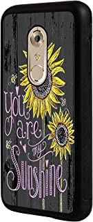 Axon 7 Case, ZTE Axon 7 Case,BOSLIVE You are My Sunshine Wood Background Design TPU Slim Anti-Scratch Protective Cover Case for ZTE Axon 7