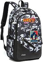 Naruto Freizeitrucksack Trekking Rucksack Segeltuch-Rucksack Sport & Outdoor Rucksäcke Camouflage Reisetasche Unisex Color : Black31, Size : 30 X 16 X 45cm