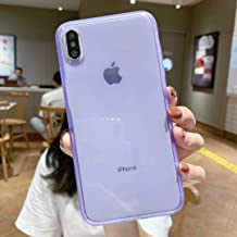 iPhone X Case Silicone,iPhone Xs Case,[Matte Shock-Absorption Bumper Edge] Silicone TPU Soft Gel Phone Cover for Apple iPhone X/Xs 5.8