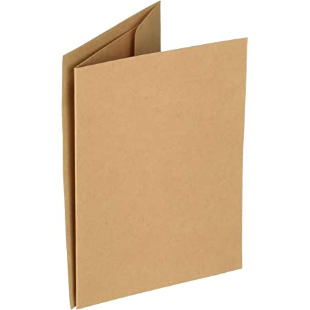 scored 50 cardsenvelopes 5X7 premium heavy weight cardstock paper crafting Darice blank cards and envelope set,white card making