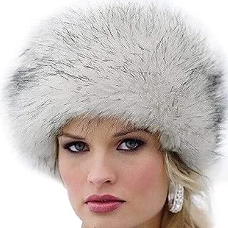 Donna CAPPELLO invernale calda pelliccia Cappello Hawkins da sci Beanie Fascia Per Capelli Donna Trapuntato
