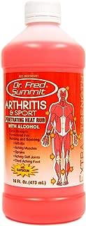 Dr. Fred Summit Arthritis & Sport Penetrating Heat Rub 16oz