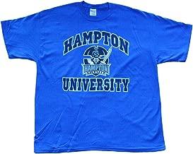 Hampton University Arch Logo T-Shirt Pirates College T-Shirts