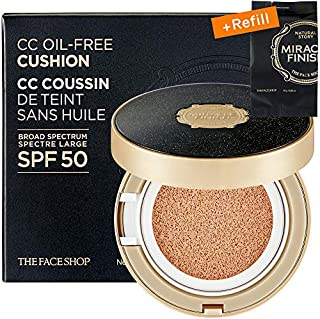 cushion the face shop miracle finish