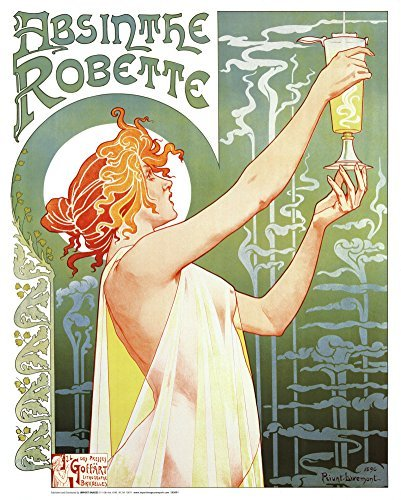 Absinthe Robette Mini Poster 16 x 20in by Imaginus Posters