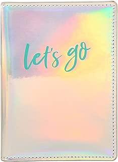 iridescent passport cover