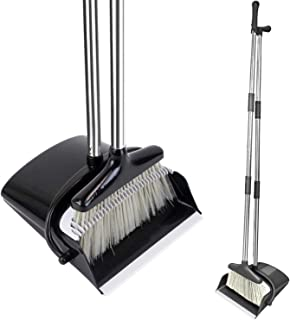 HomTrip Broom and Dustpan Set, 51