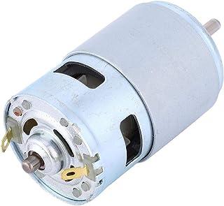 Motor de torsión grande, alta calidad 775 de alta potencia Micro DC Motor Rodamiento de bolas Eje de bajo ruido 12V 60W 4000RPM para industrial