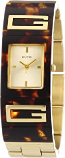 GUESS Women's W12107L1 Flair Champagne Dial Watch