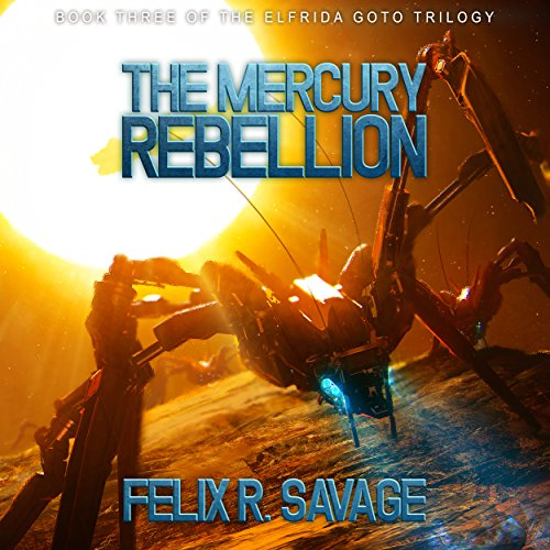 The Mercury Rebellion audiobook cover art