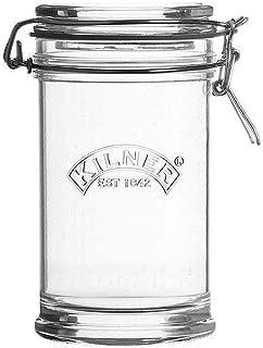Kilner Signature Glass Clip Top Jar with Airtight Rubber Seal, 0.75 Litre