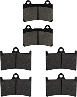 Road Passion Brake Pads Front and Rear for YAMAHA XV1700 Road Star - XV 17 A 2004-2008/S - XV17 AS 2008-2014/Midnight - XV17 AM 2004-2007