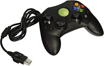 Funcilit Xbox Classic Controller S-Type Wired Game Controller - Classic Wired Gamepad Joysticks for Xbox S Type Console - Black