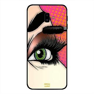 Samsung Galaxy J6 Plus Case Cover Making Eyelashes, Moreau Laurent Premium Design Phone Covers