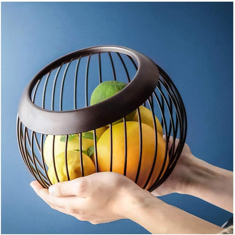 XL_FRUIT XL_Corbeilles à Fruits Assiette de Fruits Nordique Vider Le Panier de RangeHommest des ménages Creative Assiette de Fruits Simple Salon Moderne Panier de Fruits Bol