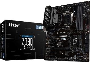 MSI Z390-A PRO - Placa base PRO Series (LGA 1151, 2 x PCI-E 3.0 x16, PCI-E Steel Armor, DDR4 Boost, 2 x USB 3.1 Gen 2, Turbo M.2, Core Boost)