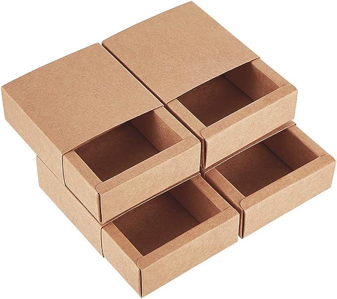 761 opinioni per BENECREAT 20 Pack Scatole di Cartone Kraft 8.3x8.3x3.3cm Scatole Regalo di Festa