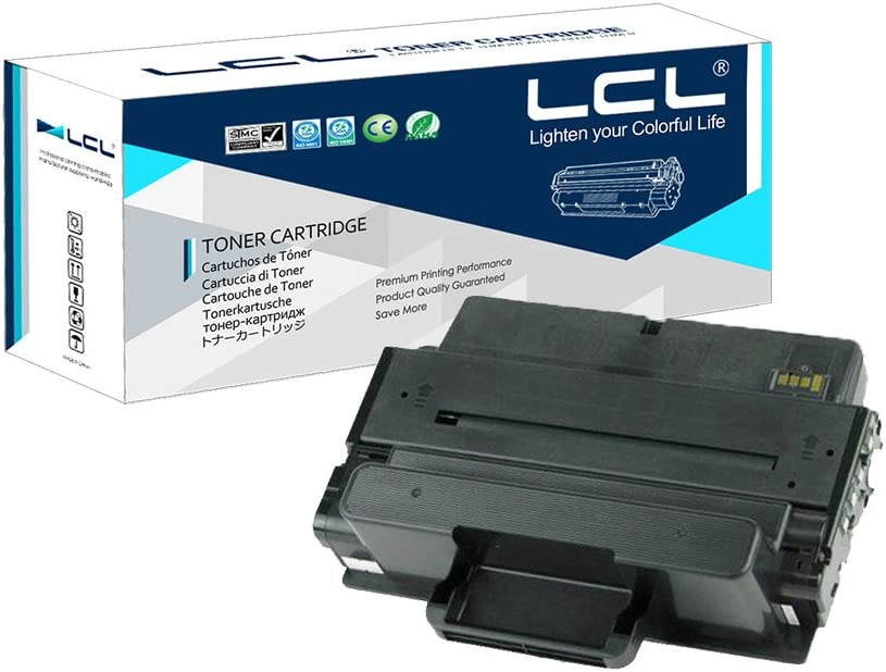 LCL Compatible Toner Cartridge Replacement for Dell C7D6F 593-BBBJ 593-BBBI 8PTH4 B2375dnf 10000 Pages B2375 B2375dn B2375dnf B2375dfw(1-Pack Black)