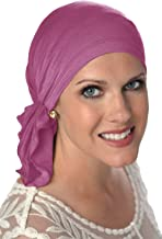 Slip On Scarf   Pre Tied Scarves   Chemo Headwear   Headscarves for Women with Cancer