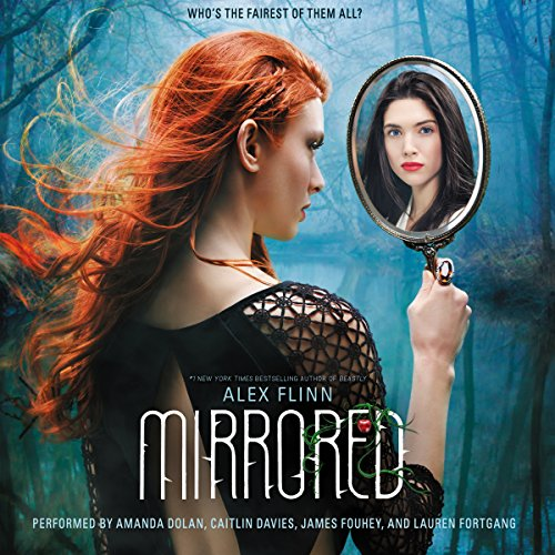 Mirrored audiobook cover art