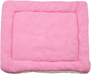 Kuntrona Warm Soft Fleece Dog Beds Mat Large Small Dogs Crate Cushion Pet Blanket Furry Bed Sofa Dogs Cats Washable Comfort