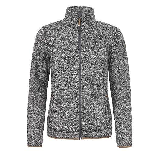 Icepeak Lesia Fleece Strickjacke für Damen, Farbe:Schwarz, Damen Größen:40