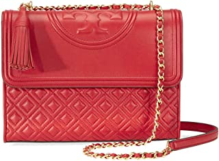 af98d90b534 Tory Burch Fleming Convertible Leather Shoulder Bag