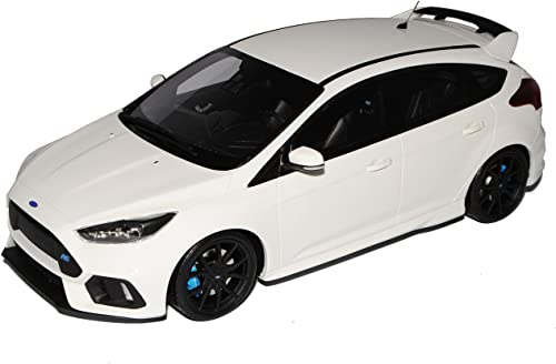 Ford Focus RS Weißs 5 Türer 3. Generation Ab 2015 Nr 730 1 18 Otto Modell Auto