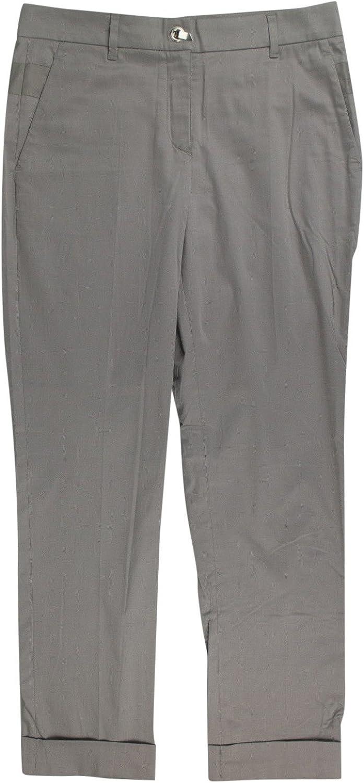 Brunello Cucinelli Gunex Women's Brown Cotton Casual Pants 6 42
