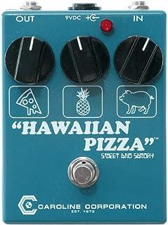 Caroline Hawaiian Pizza Fuzz Overdrive, Limited Edition Reverse Colors Blue/White