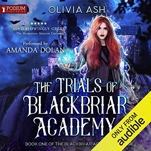 Page de couverture de The Trials of Blackbriar Academy