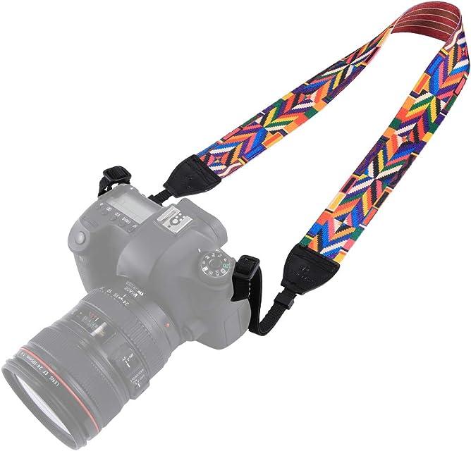 BYbrutek - Correa para cámara réflex Digital (Largo: 150 cm Ancho: 38 cm)