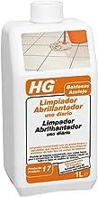 HG 115100130 Limpiador Abrillantador uso diario para baldosas, 1 litro, Blanco