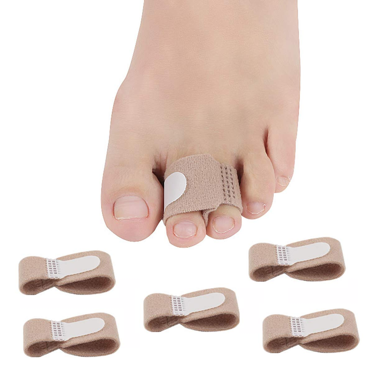 Broken Toe Wraps Separator Splints Pack Bandages Max 73% OFF Cushioned price 5