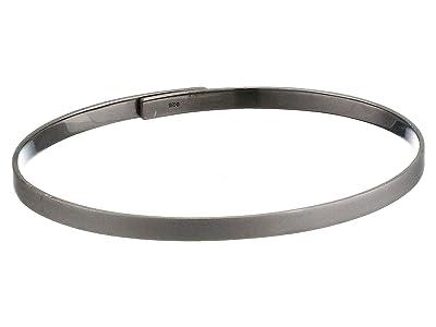 Miansai Thin Standard Cuff (Matte Black) Bracelet