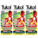 TUKOL Adult Maximum Strength Multi Symptom Cold Medicine 4 oz 3 Pack