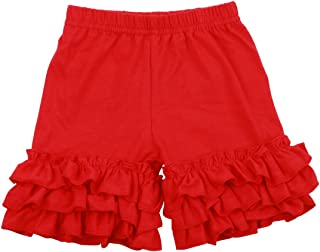 Slowera Baby Girls Cotton Ruffles Short Pants