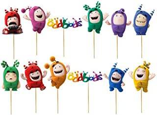 Best oddbods cake toppers Reviews