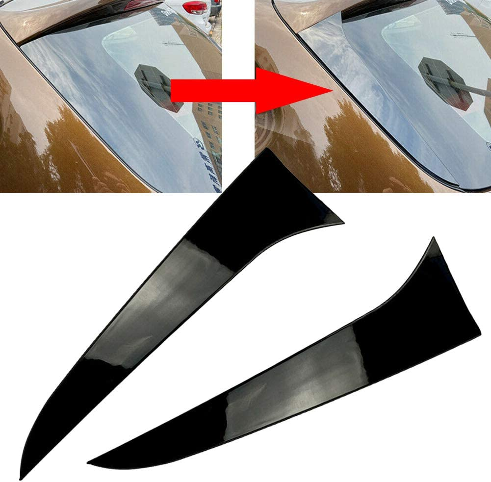 Three T Car Rear Window Spoiler Splitter Co Trim Side Wing Free shipping on posting 2021 new reviews Cover