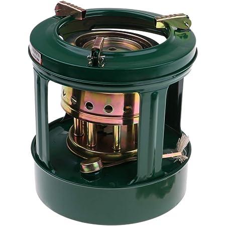 屋外 灯油ストーブ 灯油炉 8芯 1.5L 調理用 無煙 無味 キャンプ ピクニック